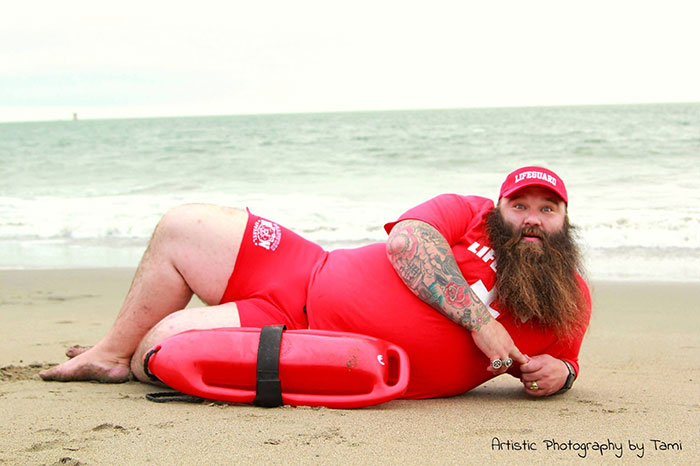 merman dudeoir photo shoot