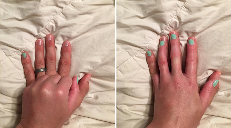The Reason She Paints Her Husband\'s Pinky Nail Is The Definition Of ...