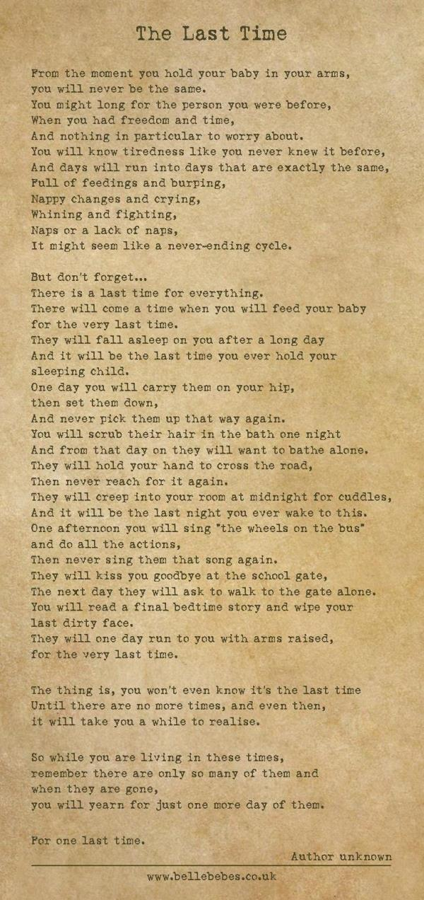 A Mother Wrote This Beautiful Poem About Her Children Growing Up