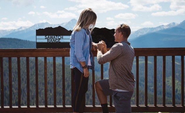 same day wedding and proposal