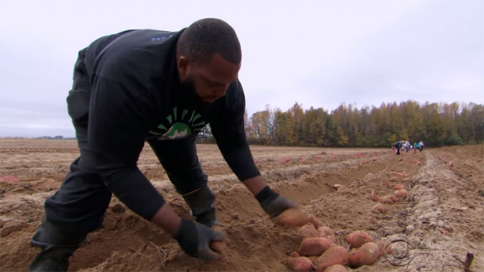 nfl player quits to become farmer and help the needy