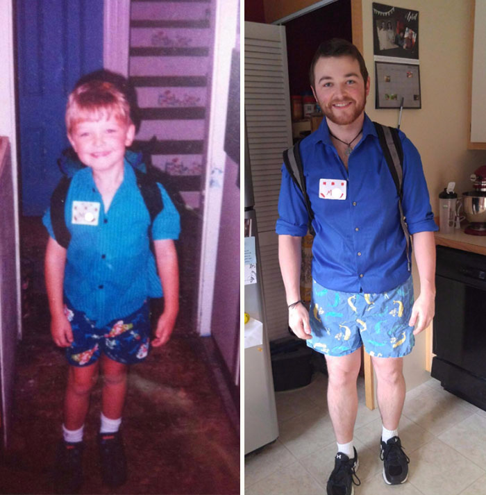 first day of school vs last