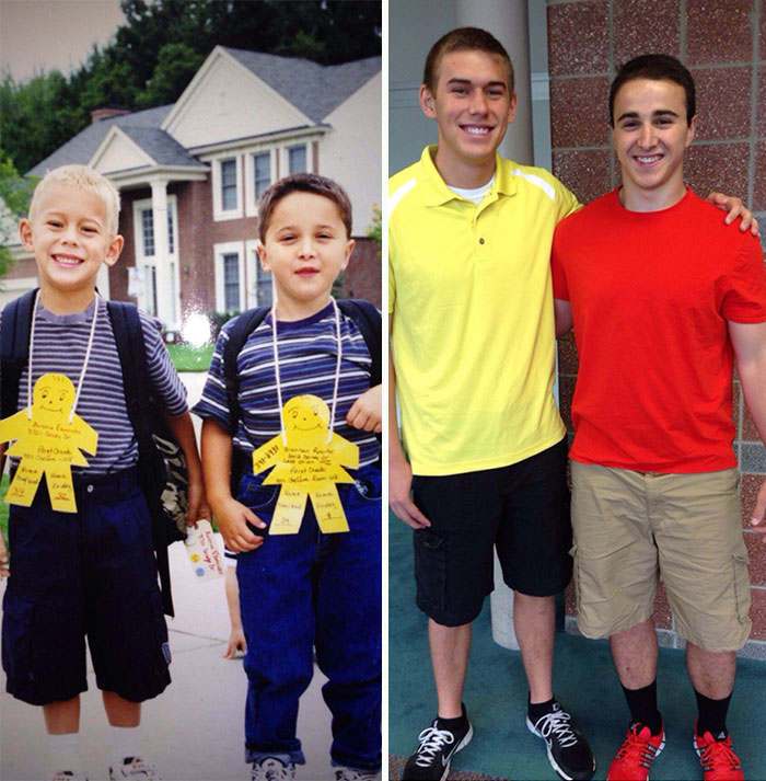 first day of school vs last