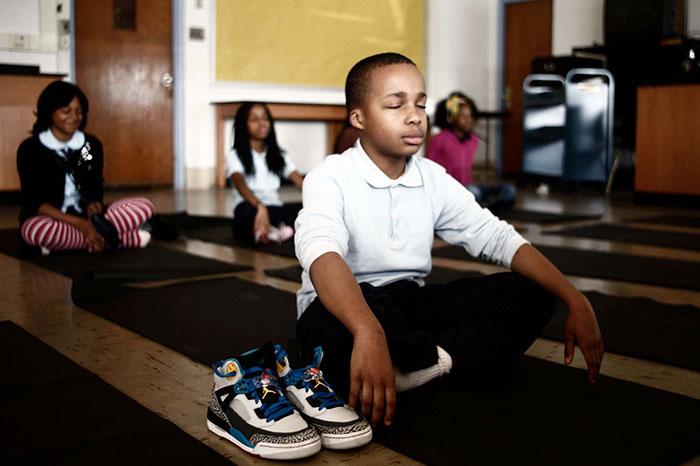 meditation in schools for kids