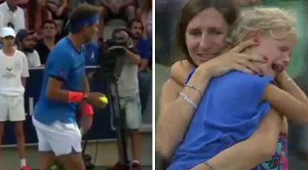 Nadal stops match to help Mom find missing daughter