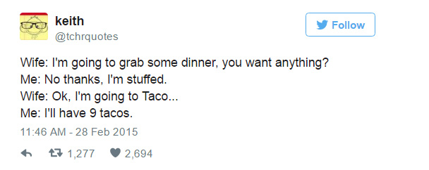 funny tweets about marriage