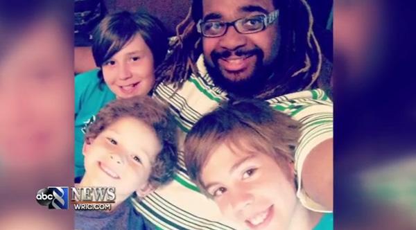 black father adopts three white boys good news story