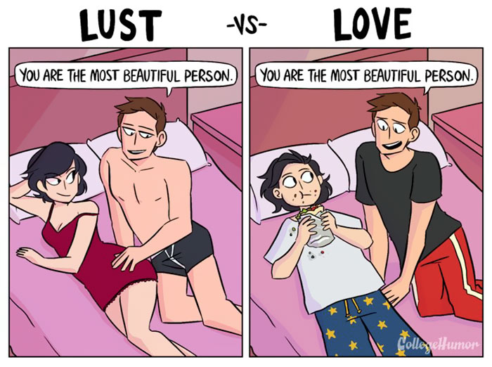 difference between lust and love