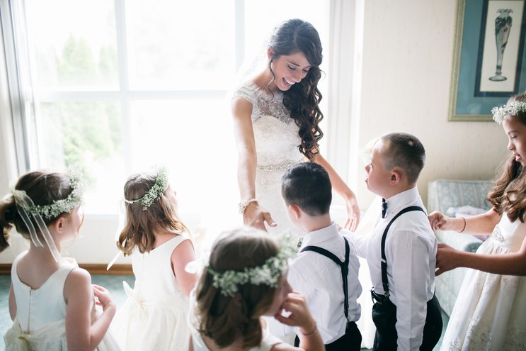 teacher special needs kids wedding