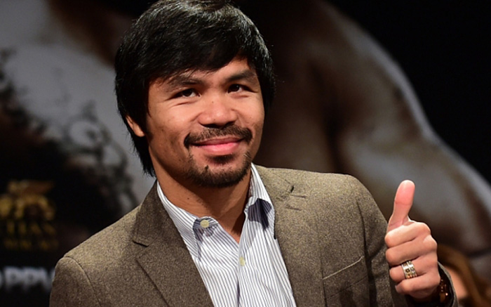 Manny Pacquiao builds homes for the poor