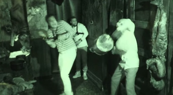 Kevin Hart And Jimmy Fallon Get Nearly Scared To Death At