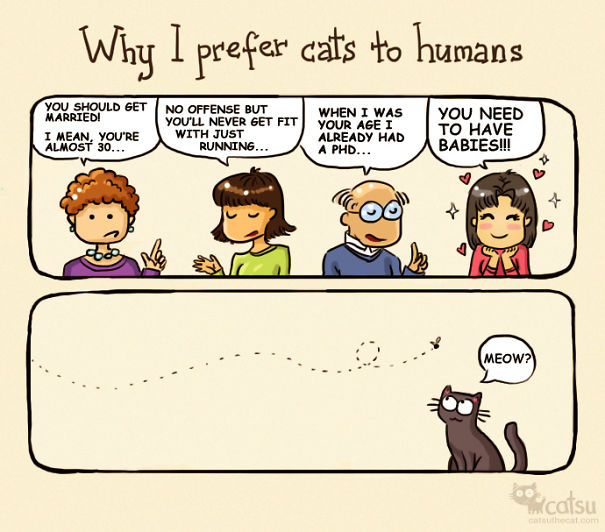 If You Own A Cat, These Comics Purrfectly Describe Your Life  Vyf6x-funny-cat-comics-5