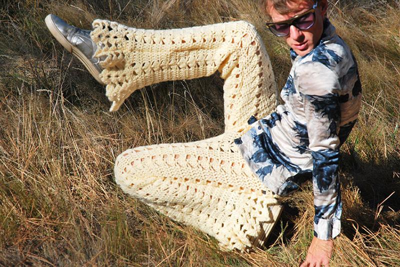 crocheted shorts for men