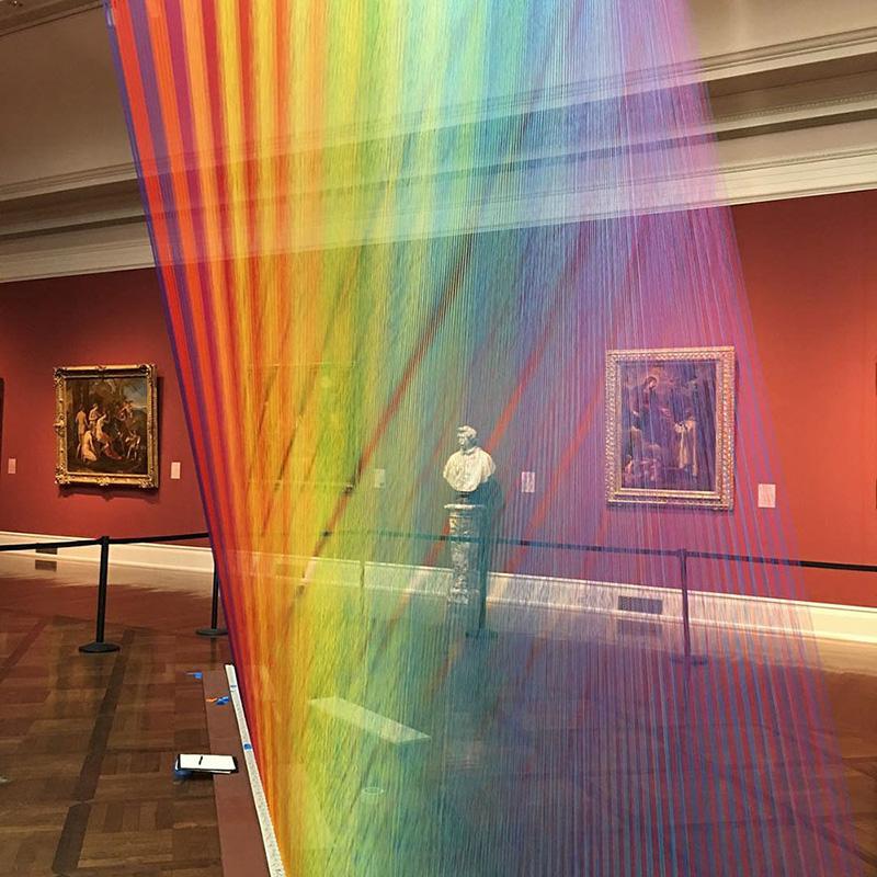 rainbow art museum