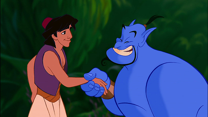 Aladdin fan theory spot on