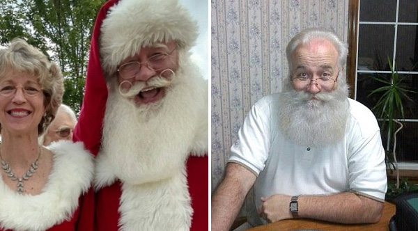 Santa terminally ill child dies in his arms