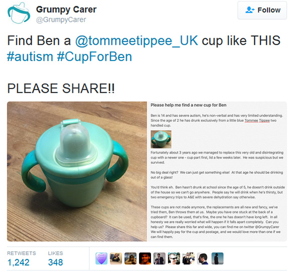 ben sippy cup story