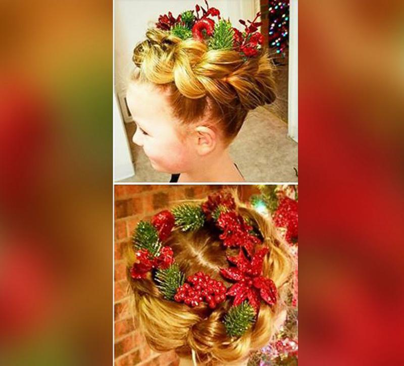 amazing Christmas hair