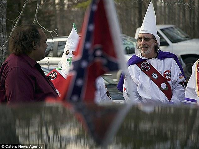 black man KKK good news