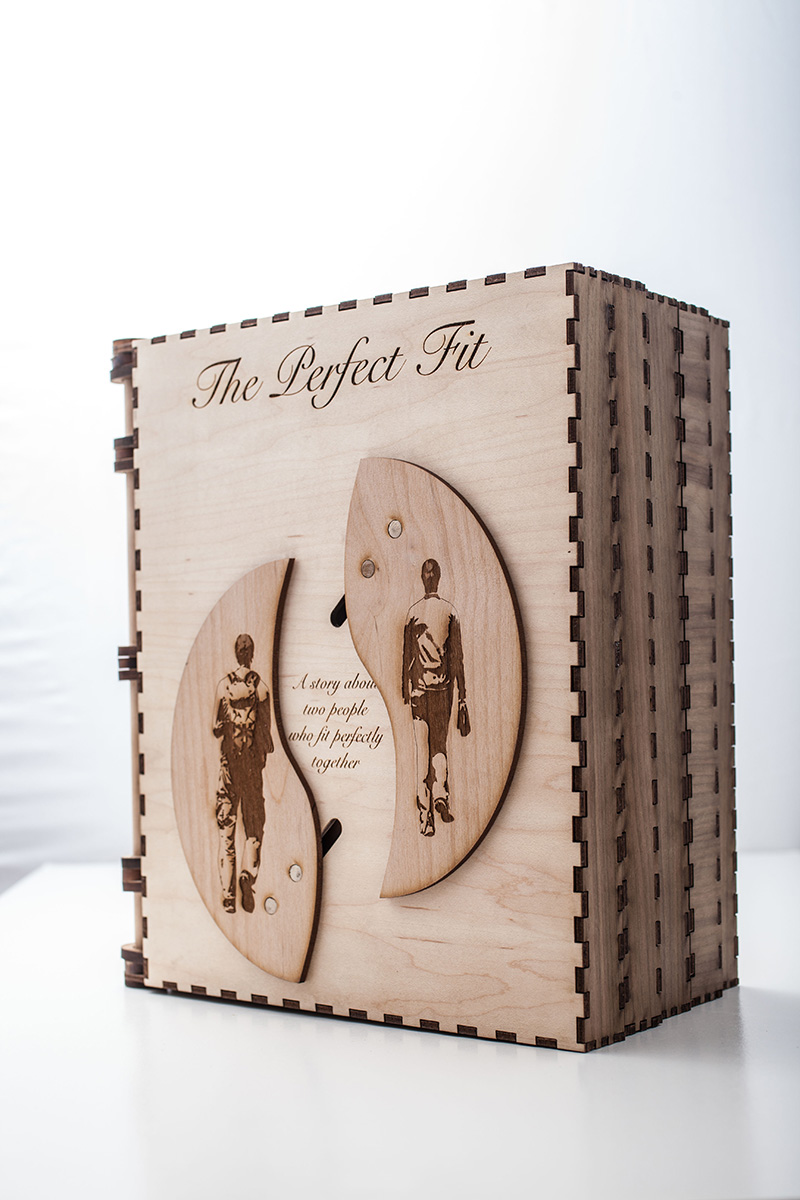 fairy tale puzzle book to propose to my girlfriend
