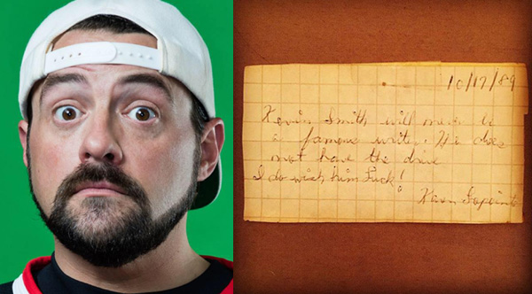 kevin smith letter from 1989