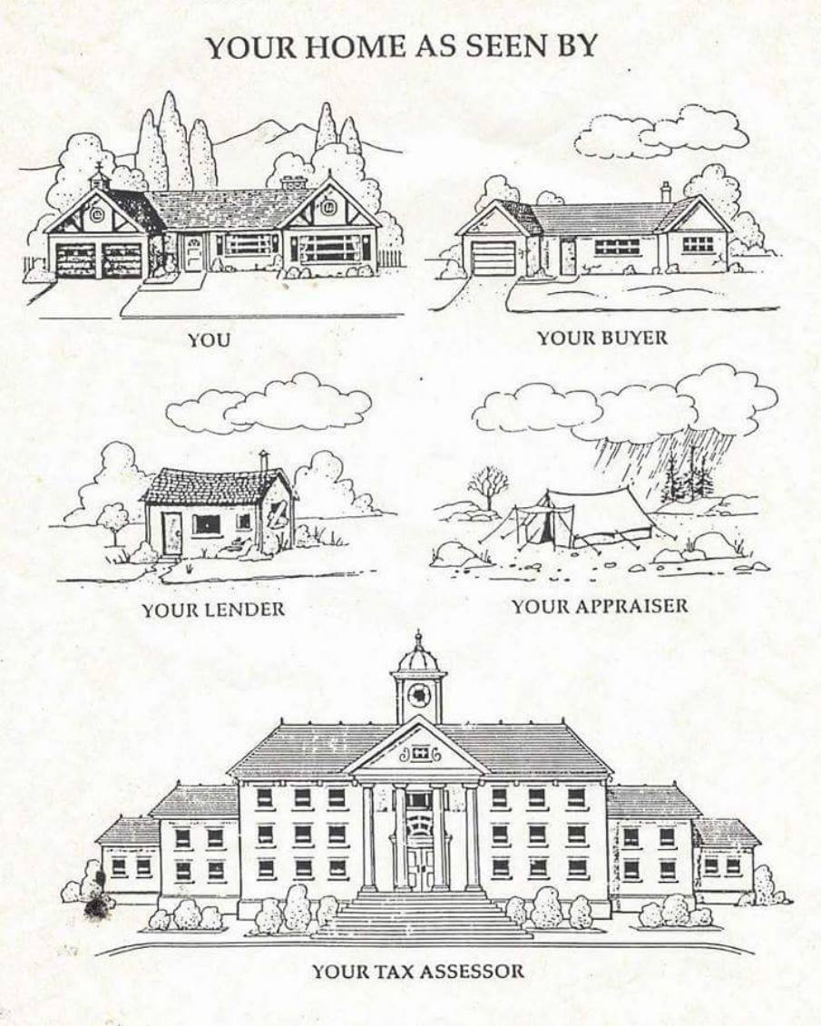 your house as seen by joke