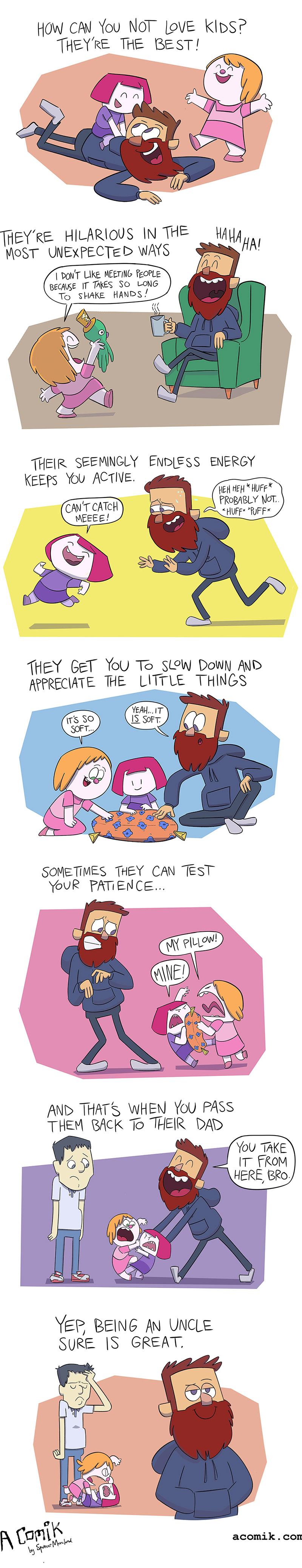funny parenting comic about kids