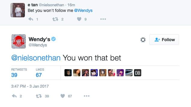 wendys twitter fight