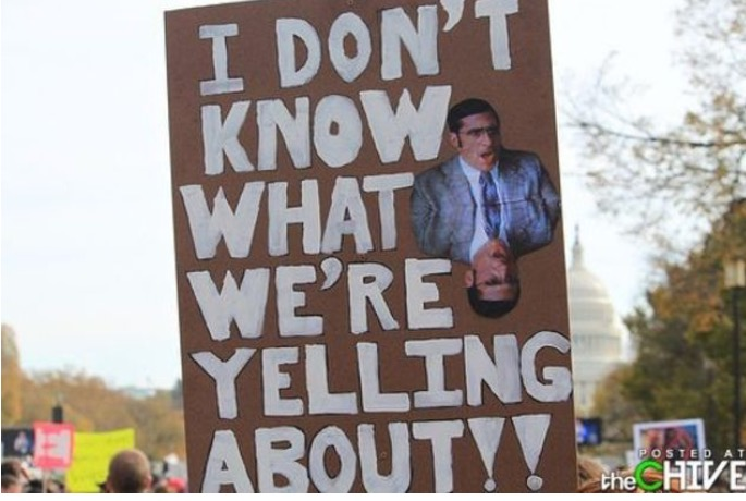 hilarious protest signs