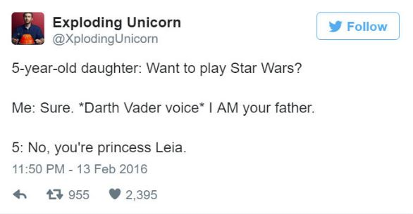 funny dad tweets from daughters