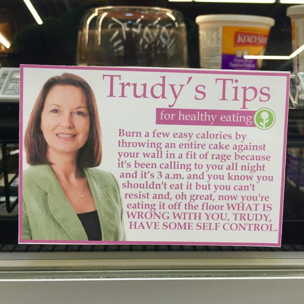 trudys tips funny weight loss