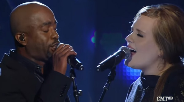 Adele And Darius Rucker Perform A Stunning Duet Of 'Need ...