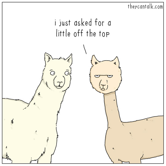 funny if animals could talk comics