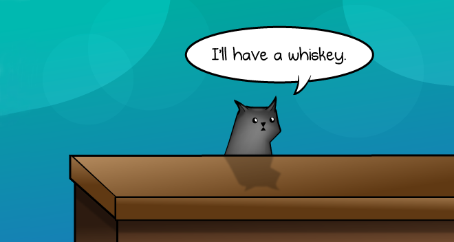 How A Cat Orders A Drink