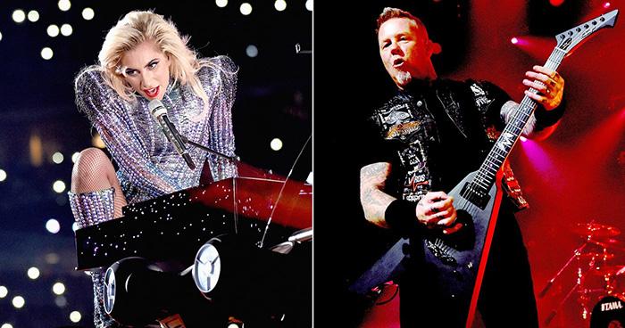 metallica and Lady gaga duet Grammys