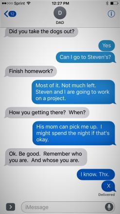Dad x plan for kids peer pressure
