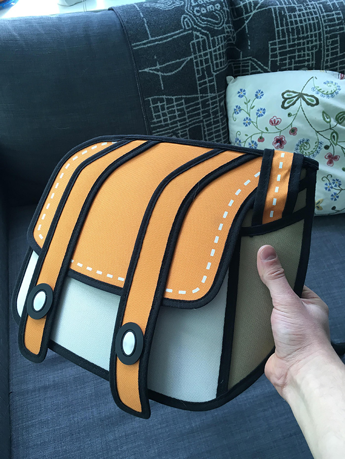These Bags Will Make You Believe 2d Cartoons Exist In The Real World
