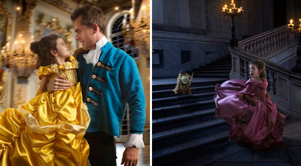 Dad And Daughter Create Magical Beauty And The Beast Photo Shoot