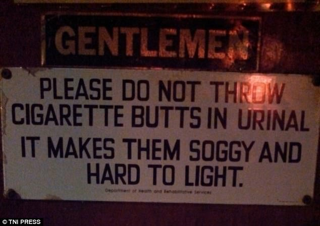 13 Funny And Bizarre Bathroom Signs Seen Around The World