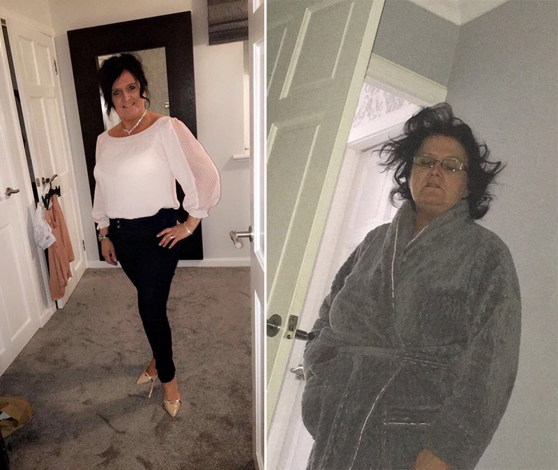 mom hungover funny before and after