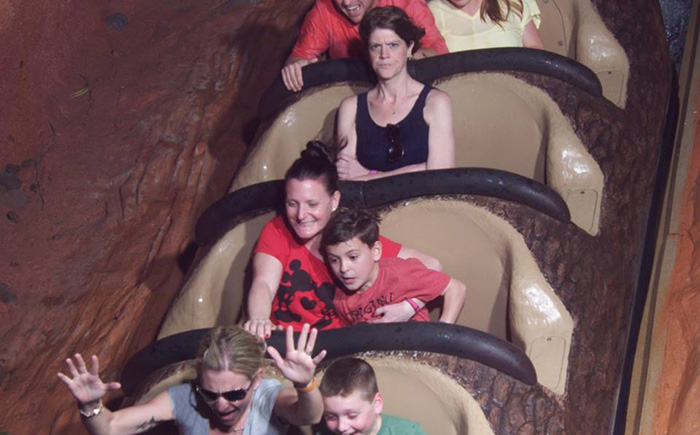 woman angry splash mountain funny alone backstory