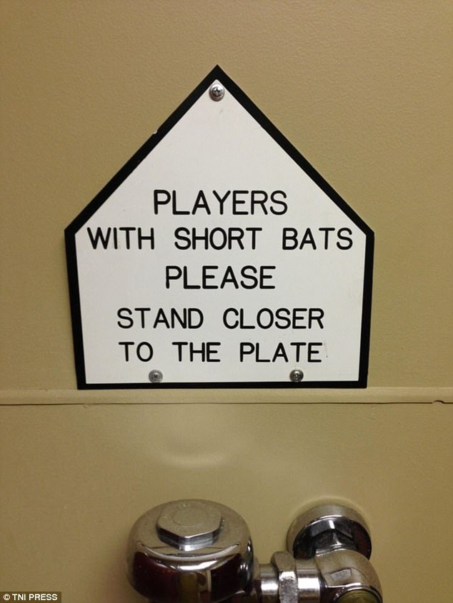 13 Funny (And Bizarre) Bathroom Signs Seen Around The World