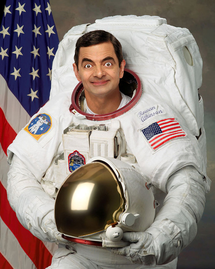 Anything You Photoshop Mr Bean Into Makes It Hilarious