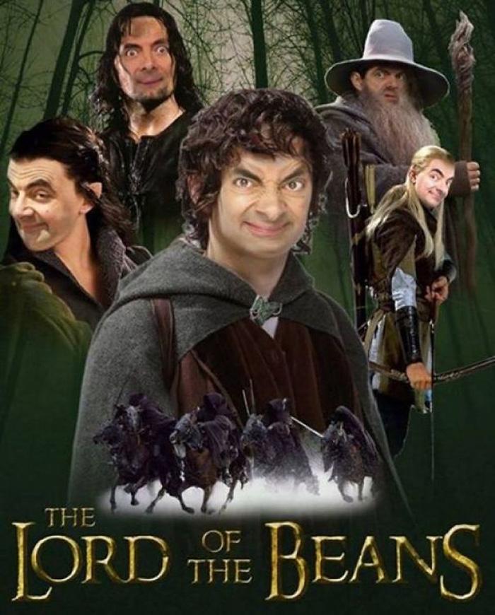 anything photoshop mr bean hilarious