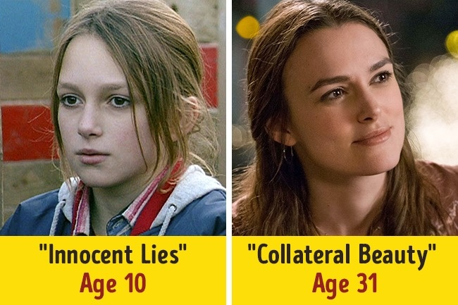 photos of actresses at beginning of career and now