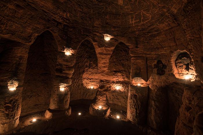 knights templar cave
