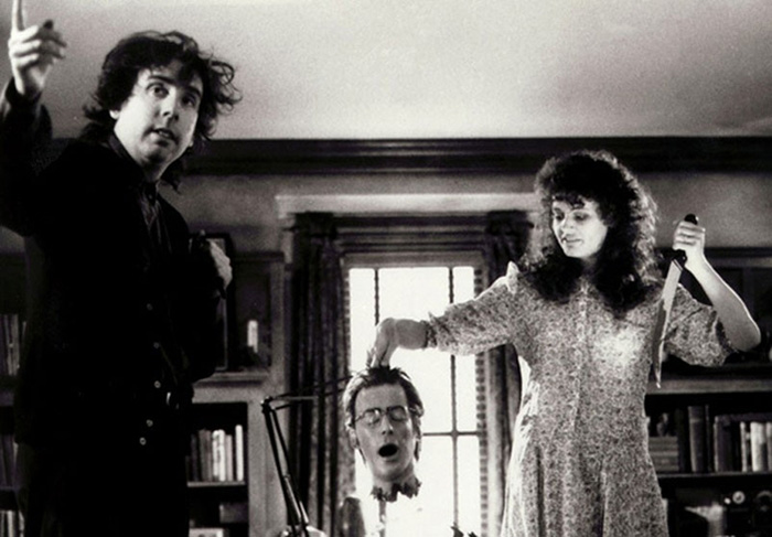 behind the scenes photos Beetlejuice