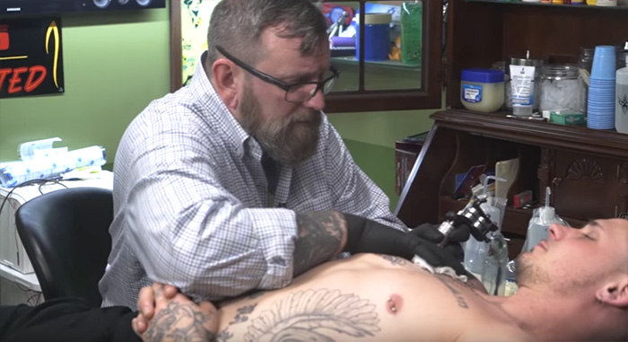 Baltimore tattoo shop free racist tattoo cover ups
