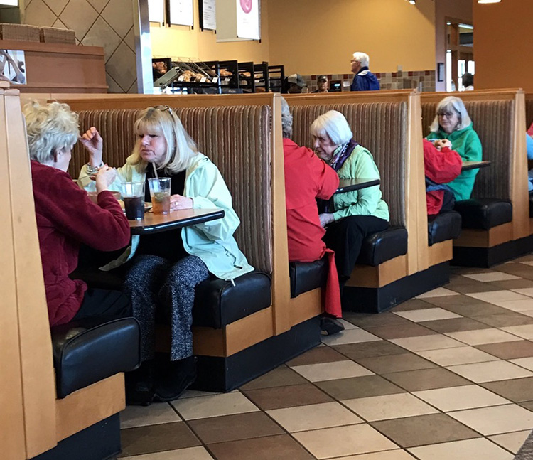 each booth alternate reality panera bread