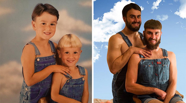 The 10 Funniest Sibling Photo Recreations On The Internet